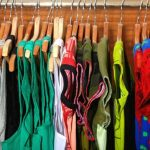 rack of dresses