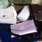 display of purses