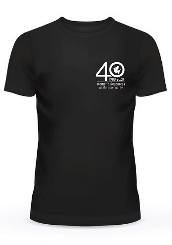 40th Anniversary T-Shirt - Front